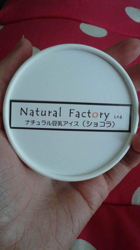 Natural Factory Soy Milk Ice Cream