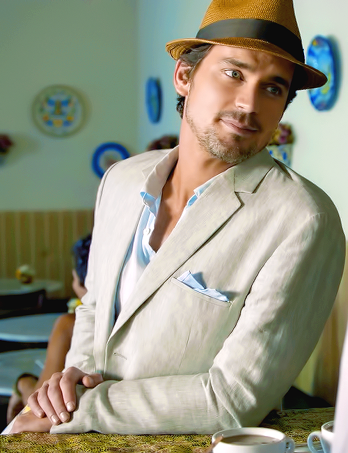 Matt Bomer as Neal Caffrey in White Collar