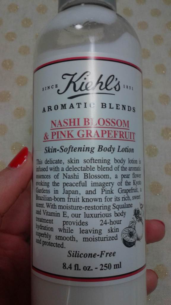 Kiehl's Nashi Blossom and Pink Grapefruit Body Lotion
