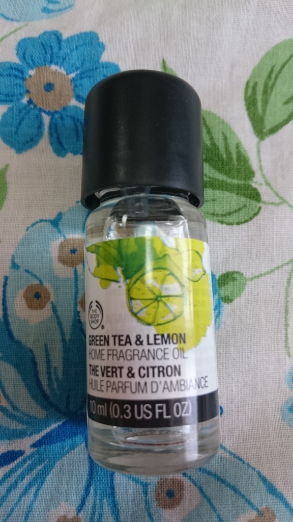 The Body Shop Green Tea and Lemon Home Fragrance Oil