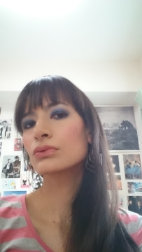 My Navy Smokey Eye
